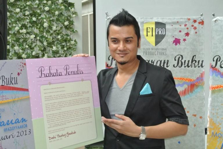 [ Hiburan ] Selebriti serba boleh : Dato' Fazley Yaakob terbit buku baru Motivasi Santai #Harian