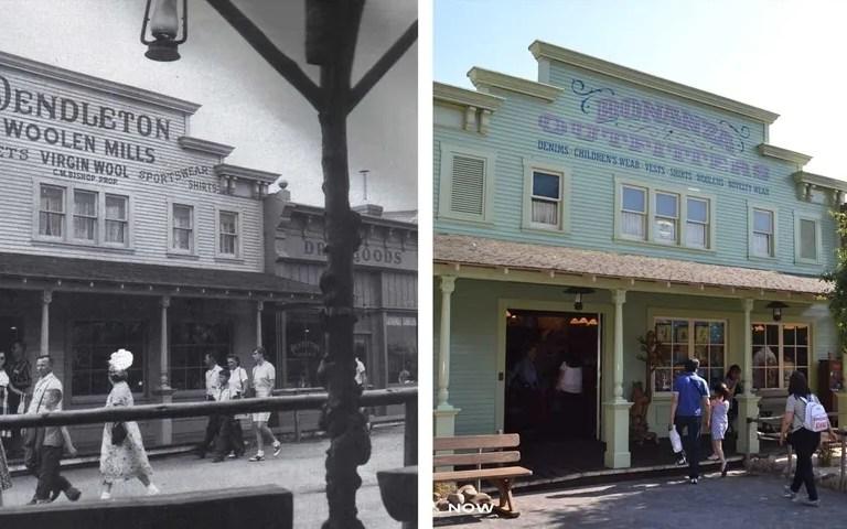 Gambar taman tema Disneyland dahulu dan sekarang ( 10 gambar )