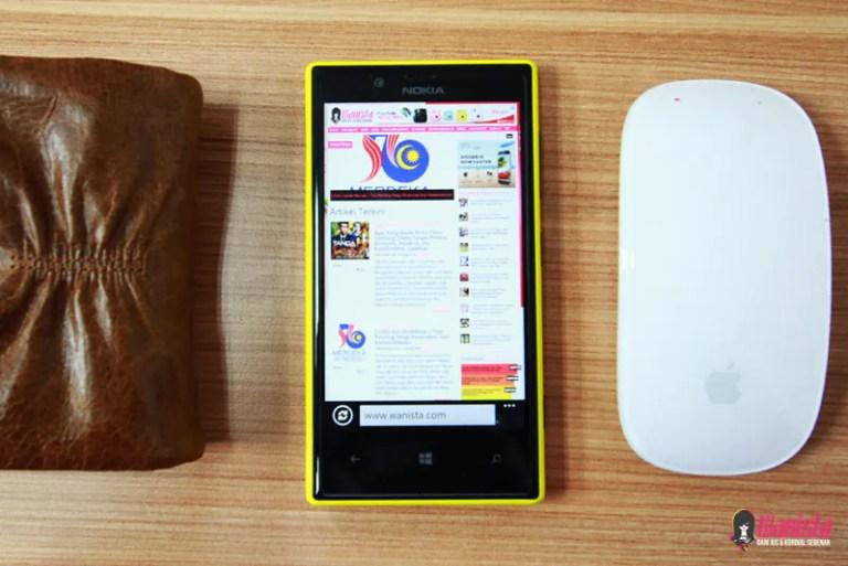 [ Teknologi ] Review telefon pintar Nokia Lumia 720 : 5 Fakta Menarik
