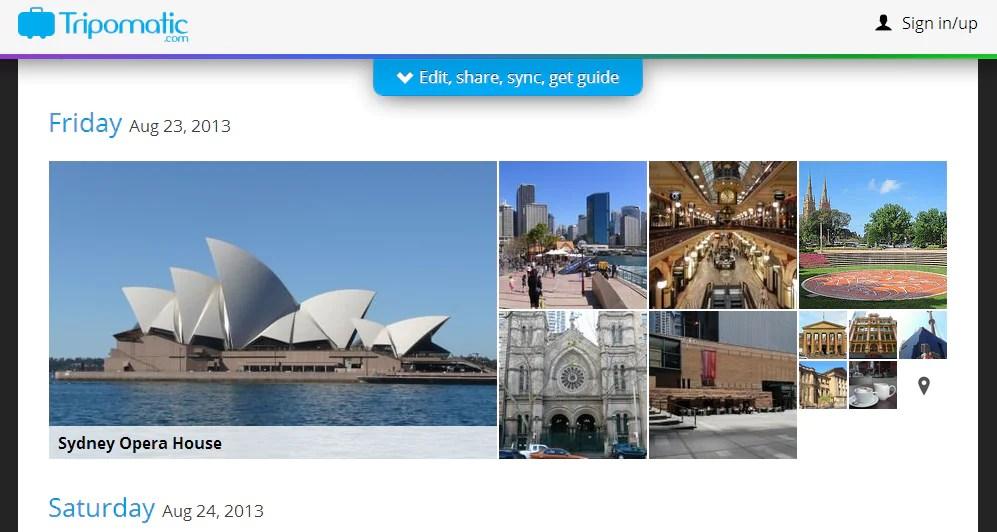 [ Tips Bercuti ] Aplikasi Tripomatic : Rancang percutian anda secara online dengan mudah
