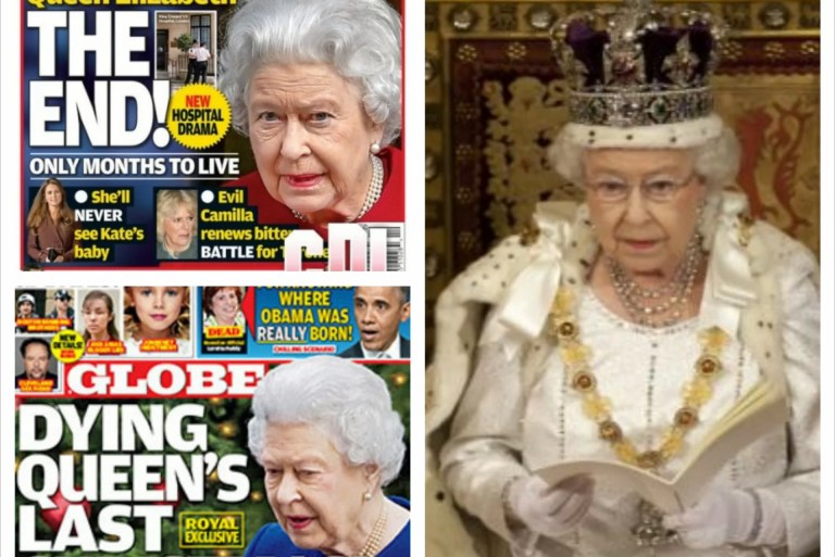 Queen Elizabeth hanya ada 6 bulan lagi untuk hidup?