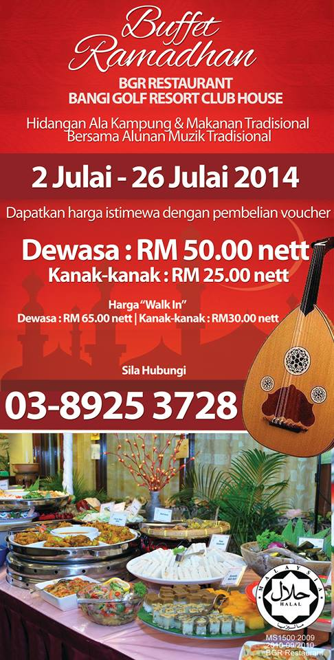 harga-buffet-ramadhan-bangi-golf-resort-restaurant