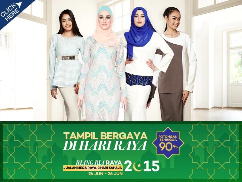 Jom Shopping Raya di Jualan Murah Online Riang Ria Raya Lazada