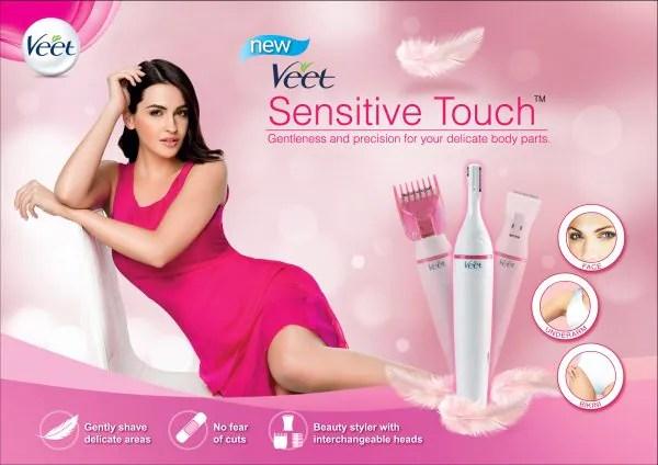 Veet Perkenal Pencukur Elektronik Sensitive Touch Untuk Wanita