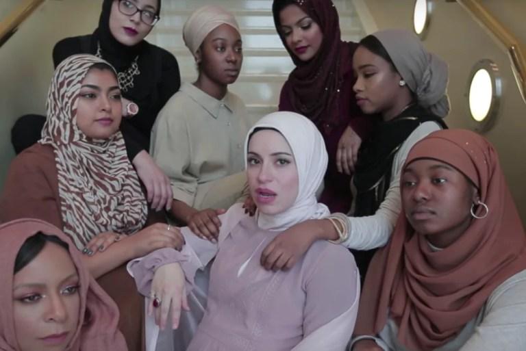 The Next Nicki Minaj! Wanita Syria Hamil 8 Bulan Hebat Nyanyi Lagu 'Rap' Tentang Hijab