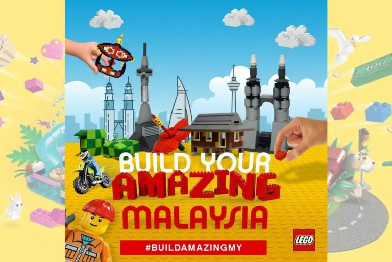 Jom Bina Bangunan Berinspirasikan Dari Malaysia Dengan Lego! #BuildAmazingMY