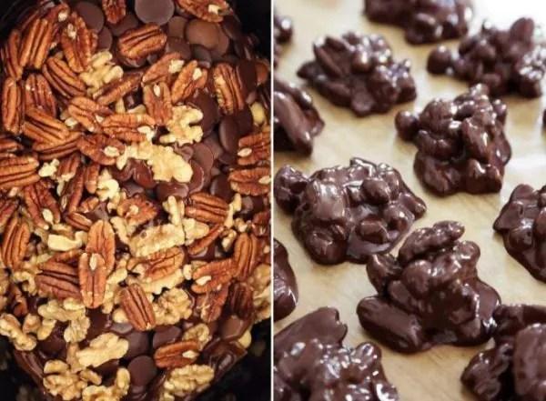 Resipi Biskut Raya: Candy Kacang Bersalut Coklat