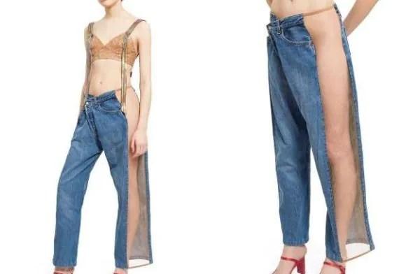 Kelakar! Jeans RM2,386 Ni Ada Panel Jarang Yang Buat Penampilan Nampak 'Cacat'