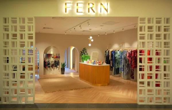 Kedai Konsep FERN Batik Tampil Dekorasi Warna-Warni Yang Memikat