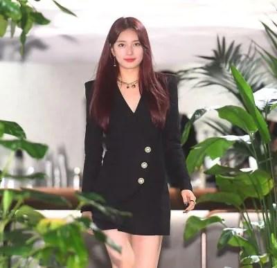 Bae Suzy Debut Rambut Baru Warna Merah, Makin Cantik Dan Nampak Dewasa
