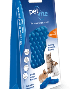 LLES VOOR JE KAT Pet+Me Cat Long Hair Brush Blue