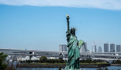 Statue of Liberty in Japan