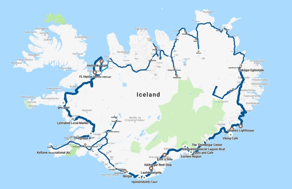 Second trip to Iceland