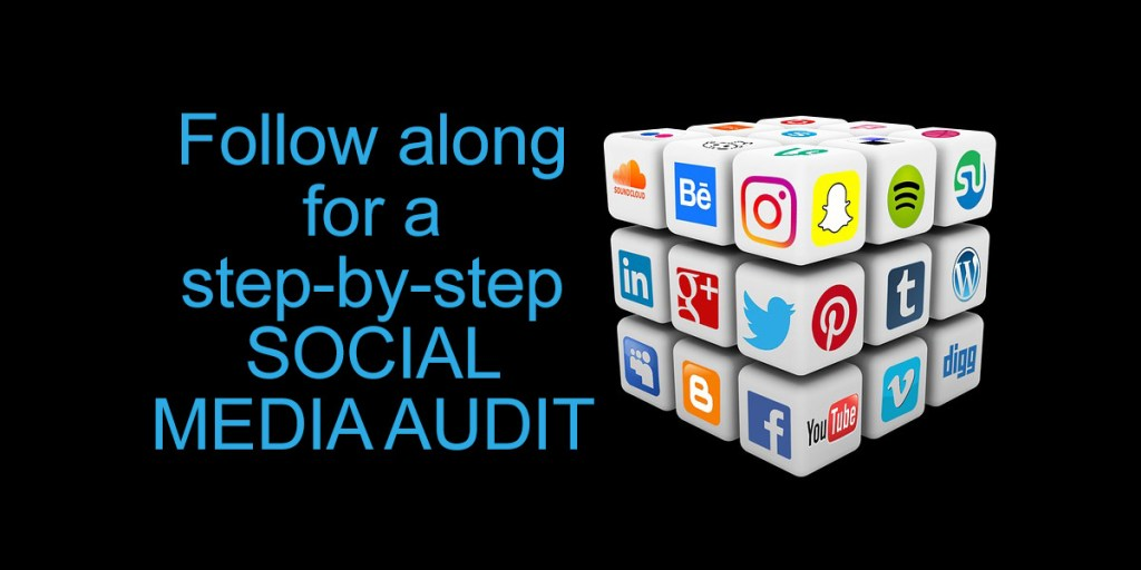 Follow along for a step-by-step SOCIAL MEDIA AUDIT