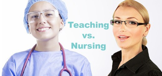Teaching vs Nursing