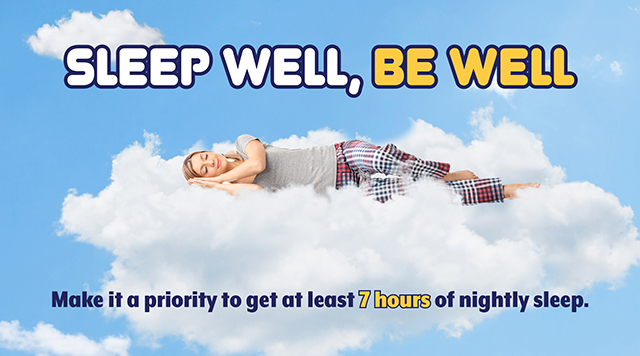 Sleep well, be well to prevent first year teacher stress
