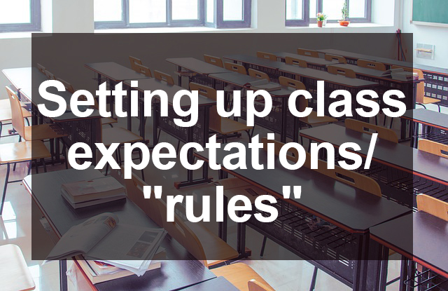 expectations rules
