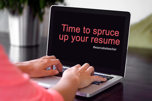 Time to spruce up your resume