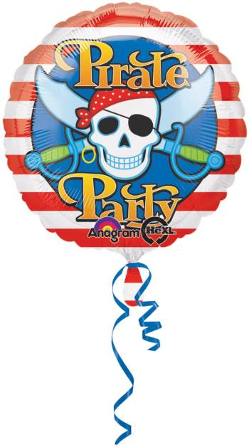 "18"" Pirate Party Balloon S40 -0"
