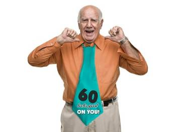60 Looks Good On You XL Tie -0