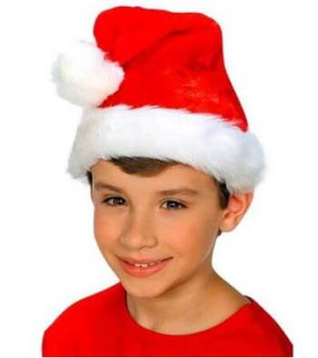 Fur Santa Kids Cap-0