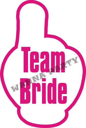 Team Bride Photo Prop-0