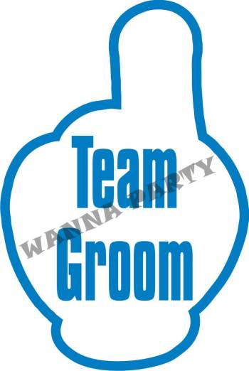 Team Groom Photo Prop-0