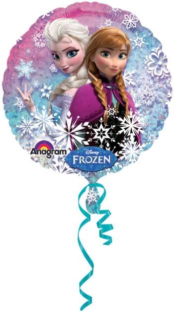 Frozen Birthday Holographic Balloons S50-0