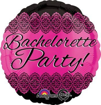 """Bachelorette Party Balloon 18"""" S40-0"""