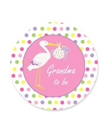 Grand Ma To Be Badge-0