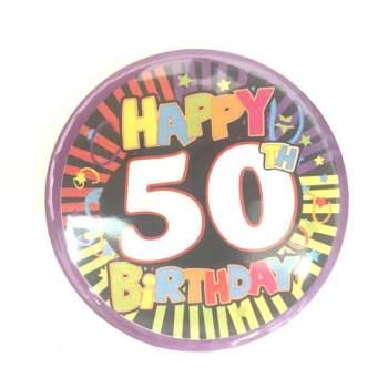 50th Birthday Badge-0