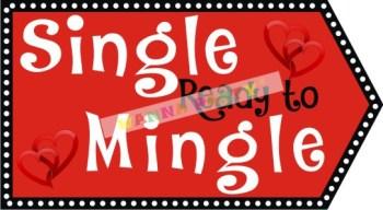 Single-Ready To Mingle Photo Prop-0