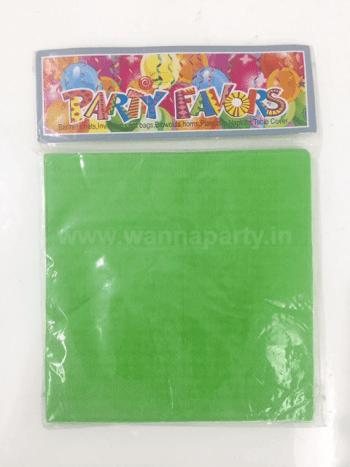 Green Paper Napkins - 20PC-0
