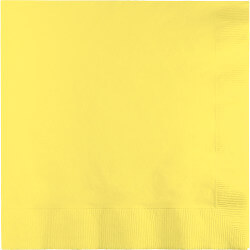 Mimosa Yellow Lunch Napkins - 50PC-0