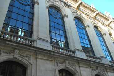 de opvallende tweede verdieping van de kapel