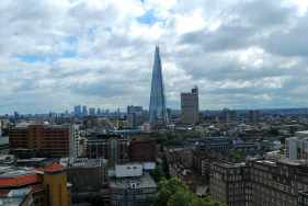 the Shard op de South Bank