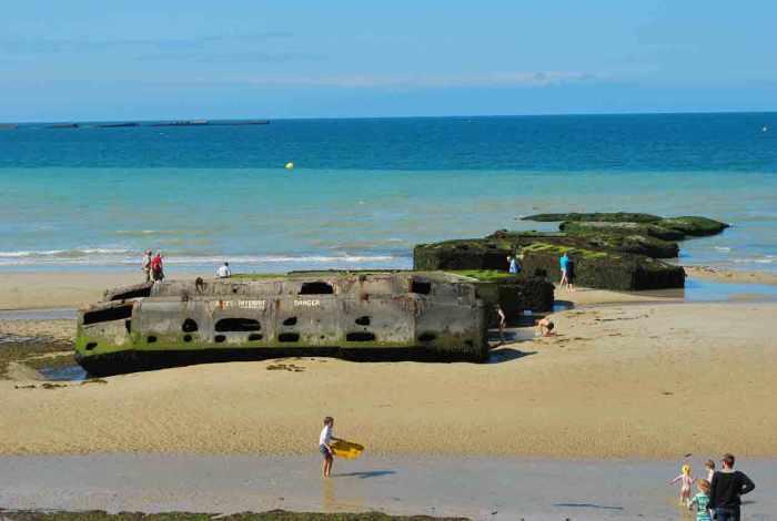 Arromanches Normandië Frankrijk