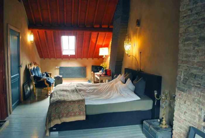 artistiek logeren in Villa Thibault Luik