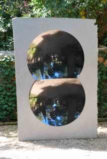 werk van Anish Kapoor bij Peggy Guggenheim Museum in Venetië