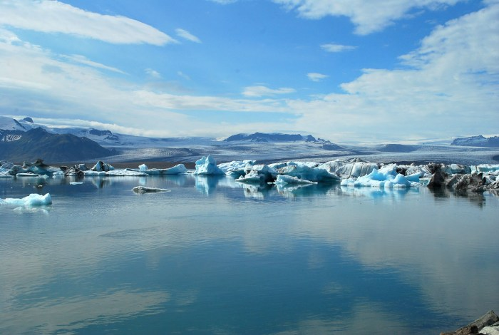 Ijsland gletsjers