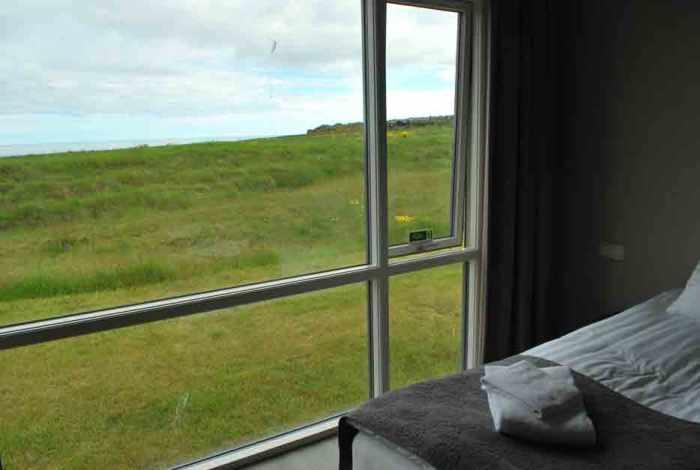 IJsland Arnarstapi hotelkamer