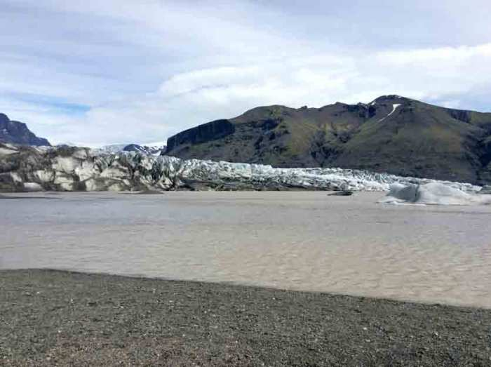 Skaftafell gletsjermeer