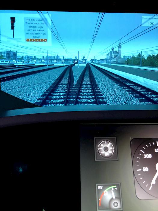 bezoek aan Train World