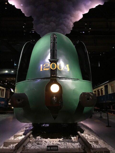 bezoek aan Trainworld