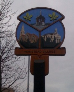 New village sign for Wanstead