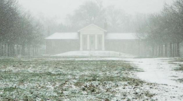 Temple - snow 2