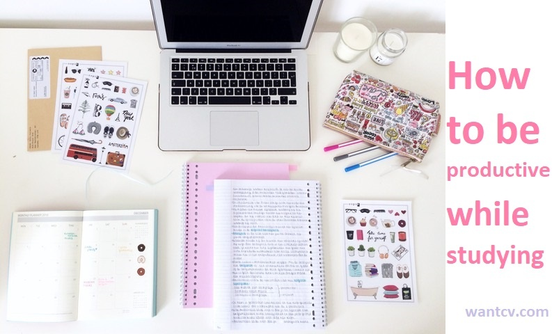 How to be productive while studying