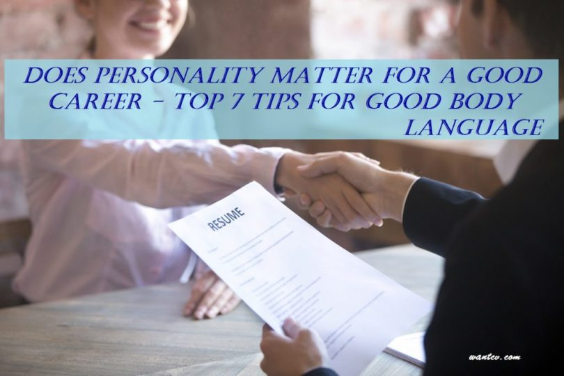 personality and job