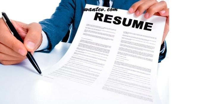 top resume free download