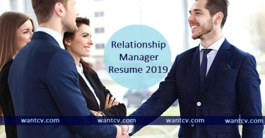 relationship manager resume writing